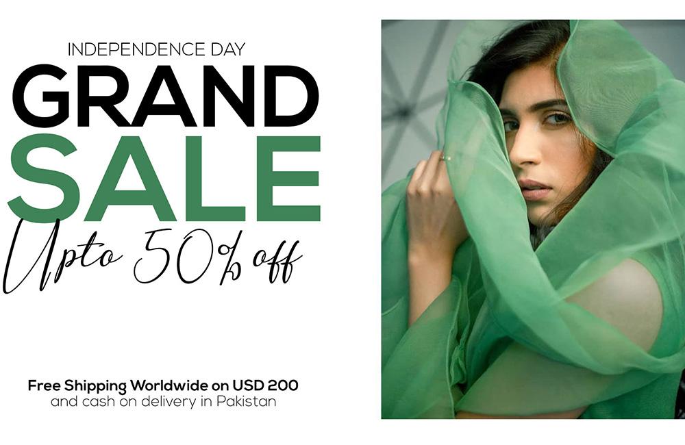Azadi Day Sale Women Clothing